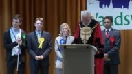 London results 3 PUTNEY declaration and speech Justine Greening SOT