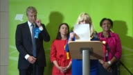 London results 3 RICHMOND PARK declaration and speech Zac Goldsmith SOT and Sarah Olney SOT