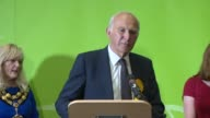 London results 3 TWICKENHAM declaration speech and interview Sir Vince Cable SOT