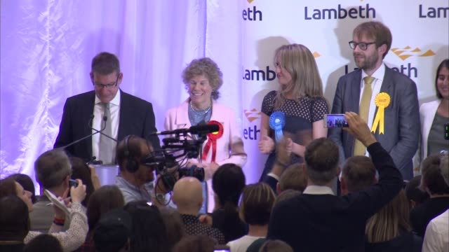 London results 3 VAUXHALL declaration and speech Kate Hoey SOT