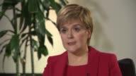 Nicola Sturgeon interview Nicola Sturgeon interview SOT re SNP manifesto launch