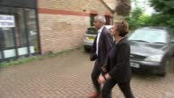 Polling day / security reviewed at polling stations ENGLAND London Streatham EXT Sadiq Khan and wife Saadiya Khan arriving at polling station