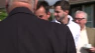 Theresa May in Southampton ENGLAND Hampshire Southampton EXT Theresa May talking to locals at Atherley Bowling Club in Hampshire / May meets more of...