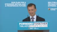 Theresa May launches Welsh Conservatives manifesto WALES Wrexham INT Alun Cairns introduction speech SOT