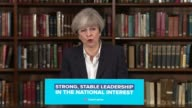 Theresa May speech at RUSI Theresa May question and answer session SOT police numbers and cuts community policing control orders Sadiq Khan doing...
