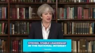 Theresa May speech at RUSI Theresa May speech SOT balance books and keep down debt difficult decision keeping country safe Corbyn and IRA ISIS...