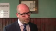 UKIP Leader Paul Nuttall to stand in Boston and Skegness interview Nuttall ENGLAND County Durham Hartlepool INT Paul Nuttall MEP interview SOT /...
