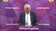 UKIP pledge to protect pensioners O'Flynn press conference ENGLAND London Westminster INT Patrick O'Flynn MEP press conference SOT