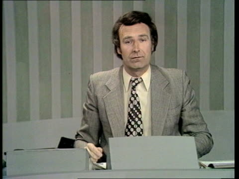 Computer Wizardry CMS Peter Snow I/C re forecast INTVW SOF l 'You know results' Tx Feb/Oct 1974 ITN