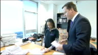 David Cameron visits social action project in Birmingham ENGLAND West Midlands Birmingham The Jericho Foundation EXT David Cameron MP accompanied by...