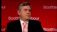 Gordon Brown speech to Scottish Labour spring conference Gordon Brown MP speech SOT All through the good times and the bad times – through the...