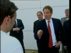 Parties focus on health BONG Blair confronted by student