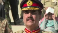 General Raheel Sharif formally takes over as the head of Pakistans army the most powerful position in the troubled military dominated nation CLEAN...