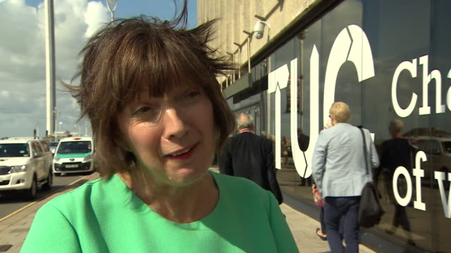TUC General Secretary Frances O'Grady saying the government lifting the public sector pay cap is 'not enough' and that workers want to 'make up the...
