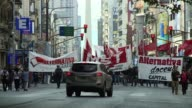 A general strike called to protest against the government of Argentinas President Cristina Kirchner disrupted public transport Thursday amid growing...