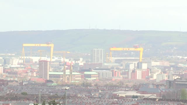 General view Belfast Northern Ireland