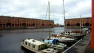 General view of Albert Dock on August 14 2017 in Liverpool England The UNESCO World Heritage site is now a major tourist attraction
