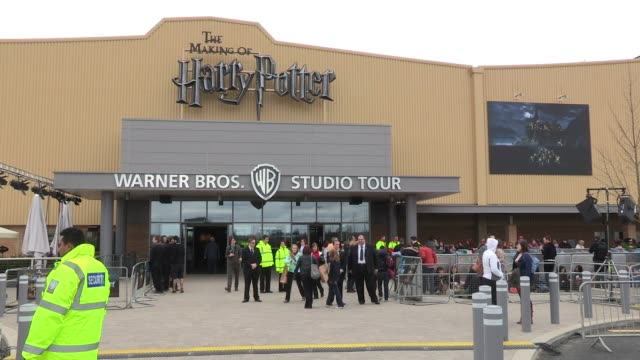 General view of the entrance to the Warner Bros Studio Tour Atmosphere at Leavesden Studios on March 31 2012 in Watford England