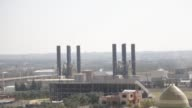 A general view of the power plant that generates electricity in the central Gaza Strip 19 June 2017 Israeli Prime minister Benjamin Netanyahu said he...