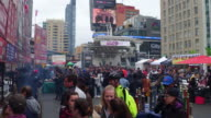 General view or atmosphere at the famous food event Real people enjoying a beautiful Toronto day in one of the most popular cultural intersections in...