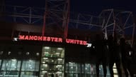 General view outside Old Trafford Old Trafford General Views at Old Trafford on March 05 2013 in Manchester England