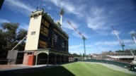 General view shows construction during the Adelaide Oval redevelopment at the Adelaide Oval on March 15 2013 in Adelaide Australia Adelaide Oval...