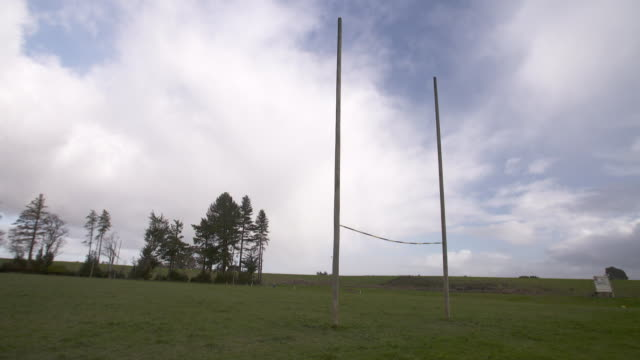 General view's of a rugby field in Tapanui New Zealand