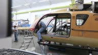 General views of Airbus Group NV helicopter unit factory in Donauwoerth Germany on Thursday Oct 9 2014 Photographer Krisztian Bocsi/Bloomberg Shot of...