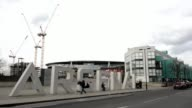 General Views Of Arsenal Football Club's Emirates Stadium General Views Of Arsenal Football Club's Emirates Stadium on February 16 2013 in London...