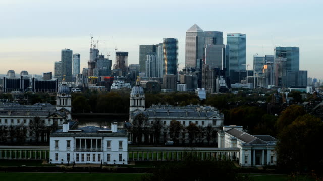 General Views of Canary Wharf