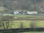 General views of farmland visited in May 2004 by alleged July 21 bomb plotters Various of Baysbrown Farm family campsite sign on drystone wall /...