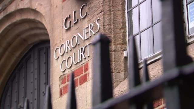 General views of Poplar Coroner's Court ENGLAND London Poplar's Coroner's Court EXT General views of Poplar's Coroner's Court