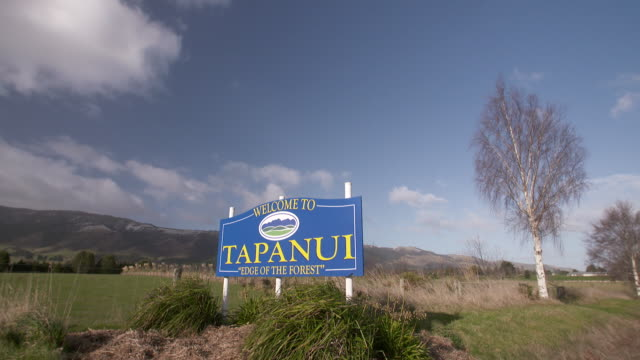 General view's of Tapanui New Zealand