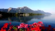 Genfer See mit Alpes