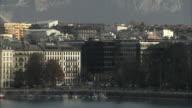WS Geneva skyline with Lake Geneva / Geneva, Switzerland