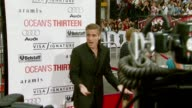 George Clooney at the 'Ocean's Thirteen' North American Premiere at Grauman's Chinese Theatre in Hollywood California on June 5 2007