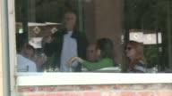 George Clooney enjoyed breakfast at the Hotel Cipriani on Saturday morning with Cindy Crawford and her husband Rande Gerber two days ahead of his...