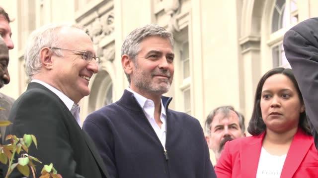 George Clooney fue arrestado el viernes en Washington Washington United States
