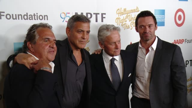 CHYRON George Clooney Hosts MPTF's 95th Anniversary Celebration on October 1 2016 in Woodland Hills California
