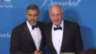 George Clooney Jerry Weintraub at the UNICEF Ball Honoring Jerry Weintraub at Beverly Hills CA