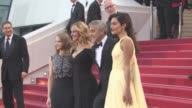 George Clooney Jodie Foster Julia Roberts Amal Clooney at 'Money Monster' Red Carpet on May 12 2016 in Cannes France