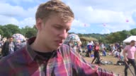 INTERVIEW George Ezra on being at Glastonbury what makes it special discovering new music his Glastonbury survival guide at Glastonbury Festival Site...