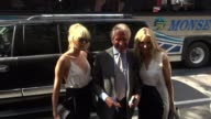 George Hamilton Alana Stewart and Kimberly Stewart arrive at the 'TODAY' show and pose for photos in Celebrity Sightings in New York