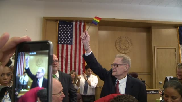KDAF George Harris and Jack Evans a couple for 54 years were the first samesex couple to get married in Dallas on June 26 the day the Supreme Court...