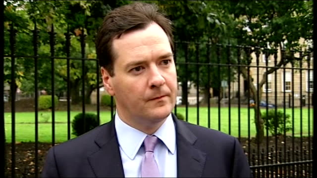 George Osborne announces North Sea oil tax breaks SCOTLAND Glasgow EXT George Osborne MP interview SOT This morning UK governmenrt is announcing new...