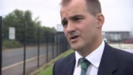 George Osborne calls for HS3 rail link for Northern England Location unknown EXT Jake Berry MP interview SOT