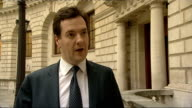 George Osborne comments on financial sanctions against Iran ENGLAND London EXT George Osborne MP interview SOT What are you announcing today on Iran...