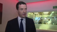 George Osborne interview on HSBC ENGLAND Wolverhampton INT George Osborne MP interview SOT Reaction to HSBC threat to move headquarters from UK
