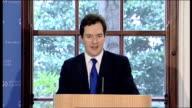 George Osborne launches OECD survey of UK Economy ENGLAND London Treasury INT George Osborne MP speech at launch of the OECD Economic Survey of the...