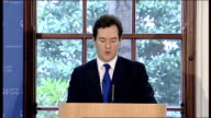 George Osborne launches OECD survey of UK Economy George Osborne speech continued SOT The mission of this year's Budget will be to move from rescue...